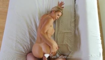 Lusty babe craves for a hardcore ass fuck from stud