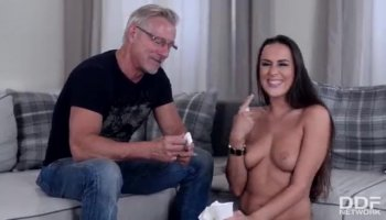 Oral and fuck as a casting test